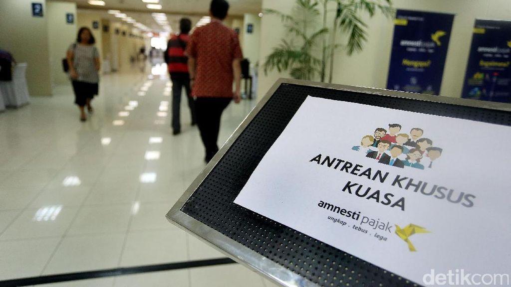 Antrean Masih Panjang, Puluhan Peserta Tax Amnesty Dipindahkan
