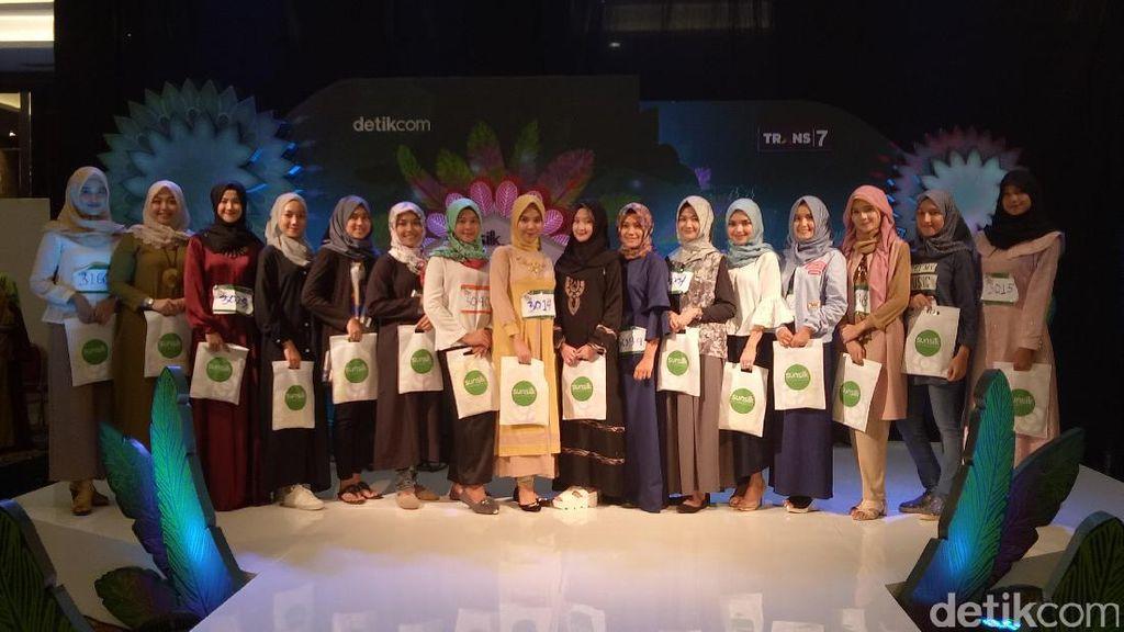 18 Hijabers yang Lolos Audisi Sunsilk Hijab Hunt Palembang Tahap Pertama