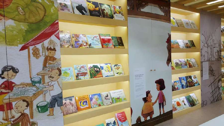 Indonesia Tancapkan Eksistensi di Bologna Childrens Book Fair