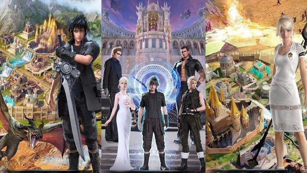 Final Fantasy XV bakal Kedatangan Fitur Multiplayer