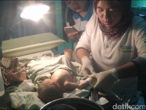 Ajaib, Dibuang di Semak Belukar Bayi di Cianjur Ini Selamat