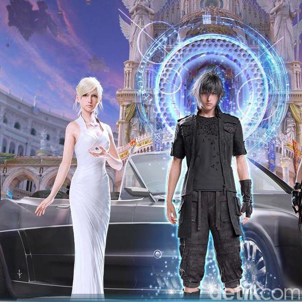 Final Fantasy XV Mungkinkan Pasang Musik Favorit Sendiri