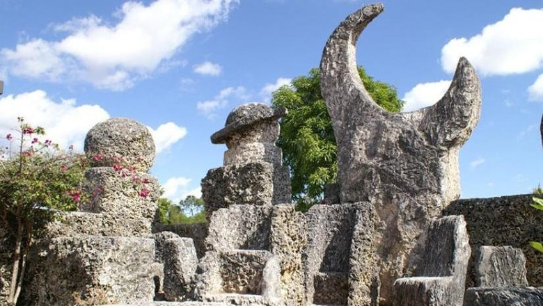 Kastil Karang yang misterius di AS (dok. coralcastle.com)