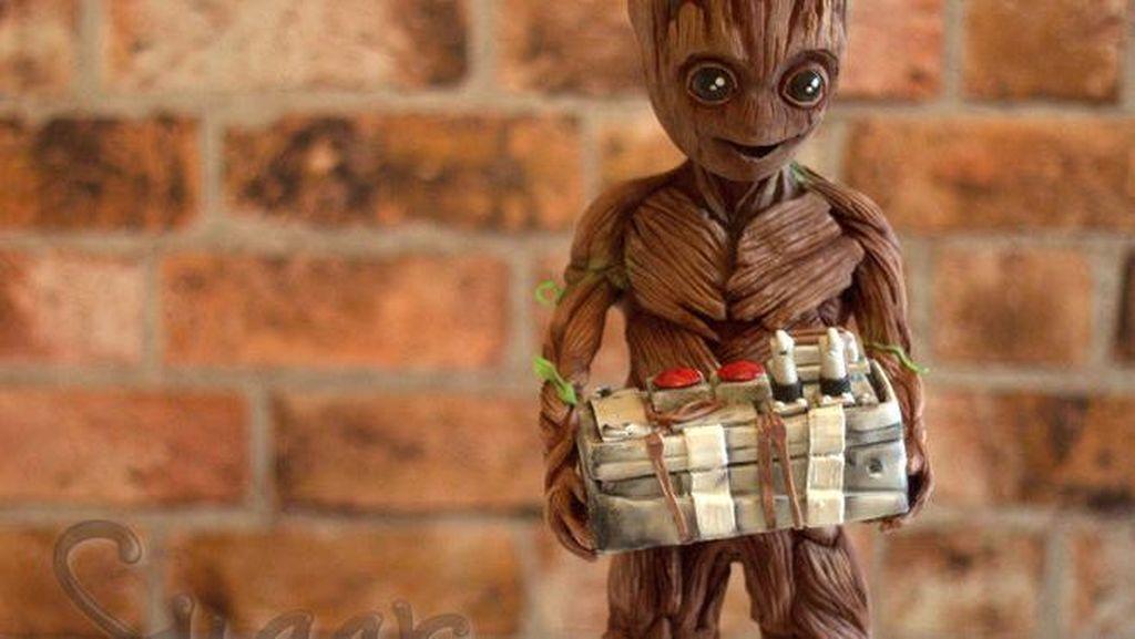 Buat Penggemar Marvel, Ini Dia Cokelat Bentuk Groot dari Guardian of the Galaxy