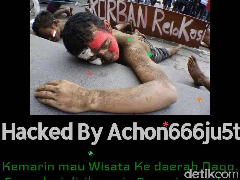 Website Imigrasi Bandung Sempat Diretas