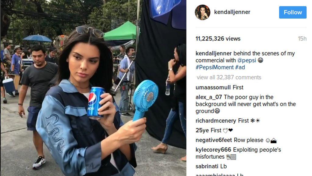 Iklan Minuman Soda yang Dibintangi Kendall Jenner Dihujat