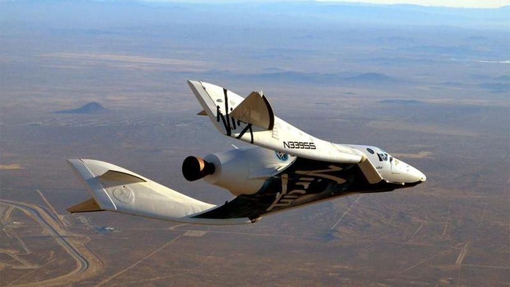Virgin Galactic, Impian untuk Piknik di Ketinggian 110 Km
