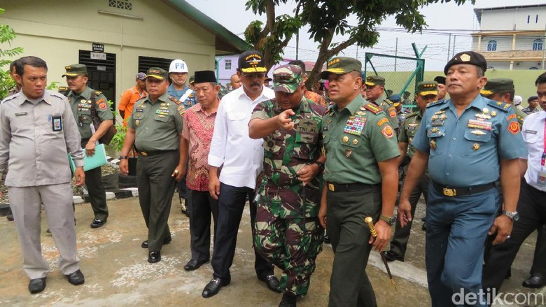 Panglima TNI Cek SKKL Perusahaan Malaysia Tak Berizin di Tarempa