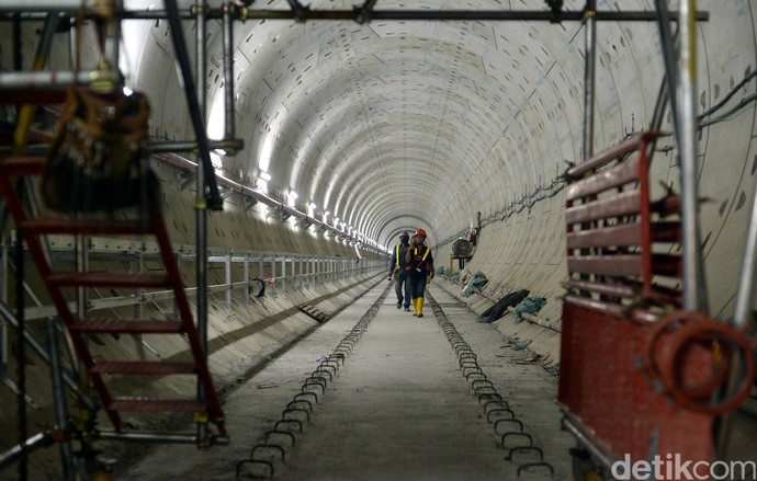 Penampakan Terkini Stasiun MRT Bundaran HI