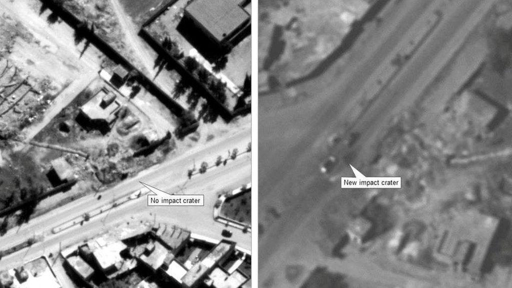 Berbagai Reaksi Dunia Atas Serangan AS ke Pangkalan Udara Suriah