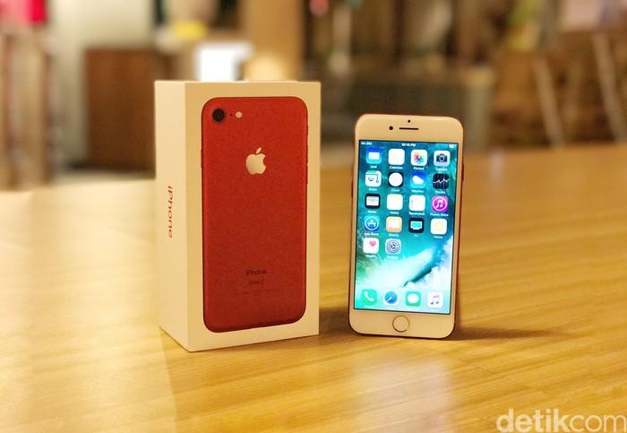 iPhone 7. Foto: Adi Fida Rahman/detikINET