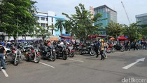 Gaya Nasionalis Komunitas Moge yang Cinta Pejuang Indonesia