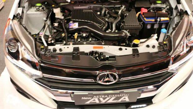 Mesin 1.200 cc Dual VVT-i