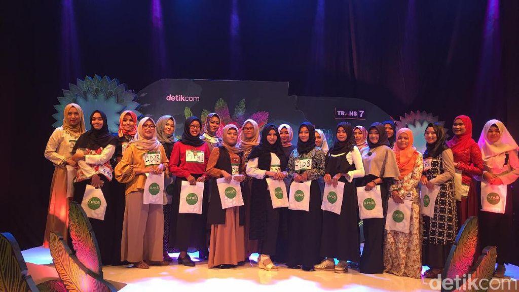 23 Hijabers Medan yang Lolos Audisi Sunsilk Hijab Hunt Tahap Pertama