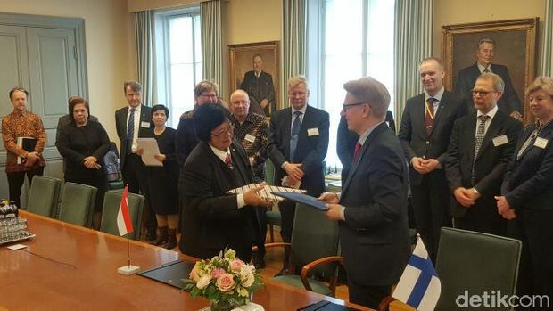 Kerja sama RI dan Finlandia