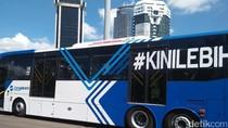Begini Penampakan Bus Maxi TransJ yang Bisa Bawa 100 Penumpang