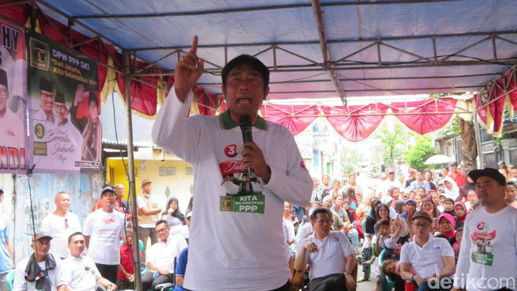 DPRD DKI Tak Gelar Paripurna Sambut Anies-Sandi, Lulung Protes