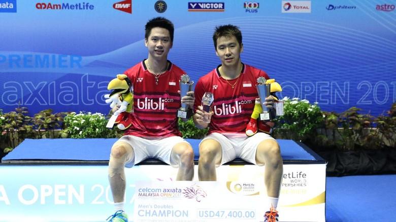 Kata Kevin/Marcus Usai Juara Malaysia Terbuka 2017