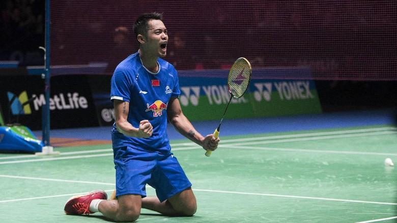 Kalahkan Chong Wei, Lin Dan Juara Malaysia Terbuka