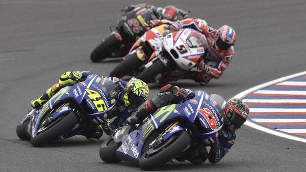Aksi-aksi Terbaik MotoGP Argentina