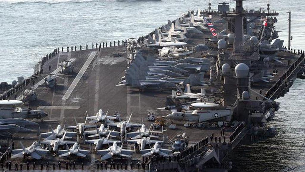 USS Carl Vinson, Kapal Induk AS Penangkal Korea Utara