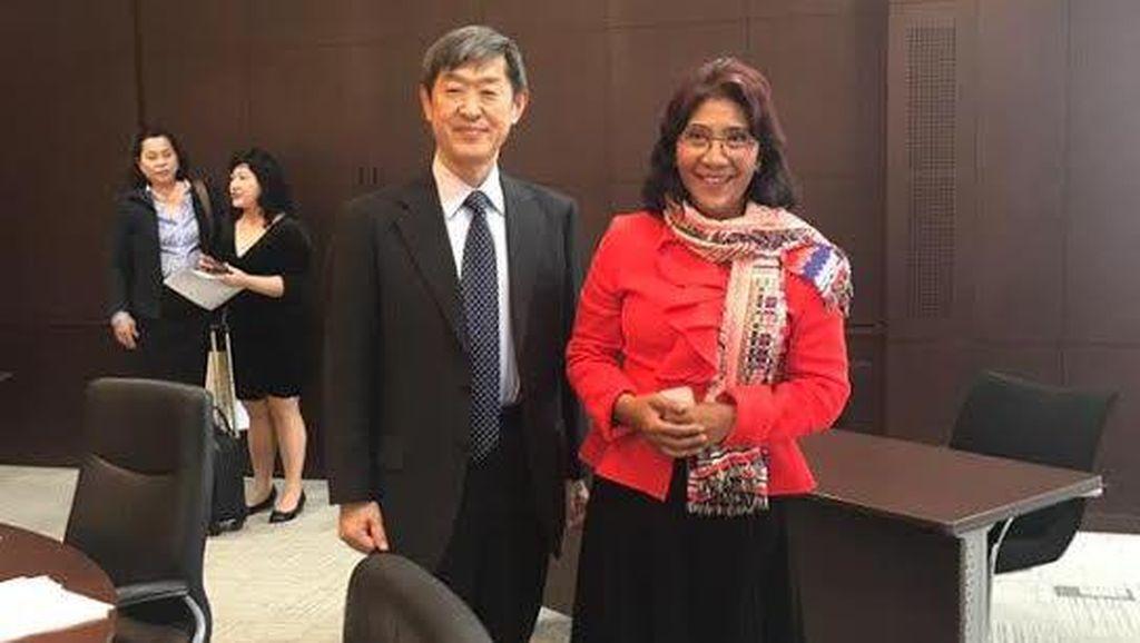 Menteri Susi Sempat Heran Dijadikan Tokoh Komik Jepang