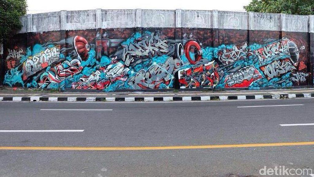 Street Art Yogya, Diterima Publik Tapi Berebut Ruang dengan Iklan