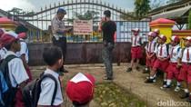 Lahan Disegel Pemilik, Aktivitas Belajar SD di Trenggalek Terganggu