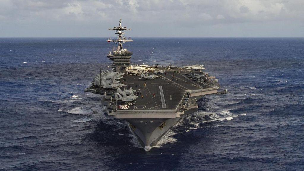 Dikirim ke Semenanjung Korea, Kapal Induk AS Bertenaga Nuklir
