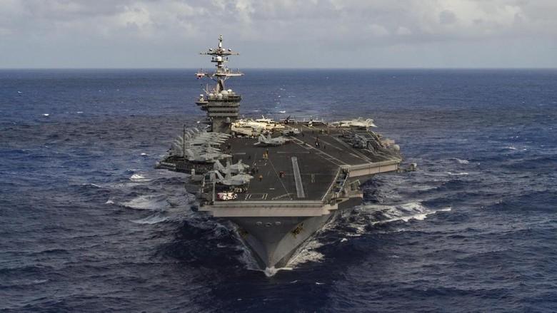 Kapal Induk AS Ternyata Masih Jauh dari Semenanjung Korea