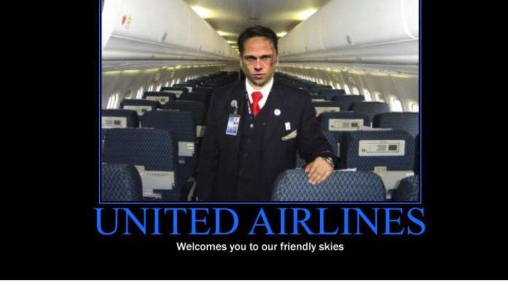 United Airlines Terkapar Dihantam Facebook dan Twitter