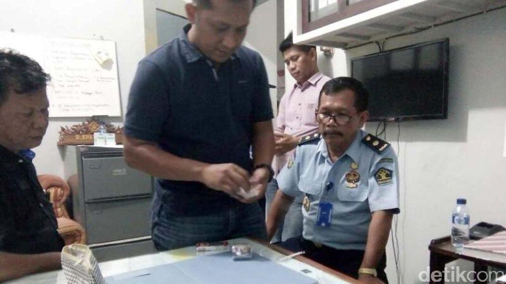 Wanita Bercadar Gagal Selundupkan Sabu ke Lapas Semarang
