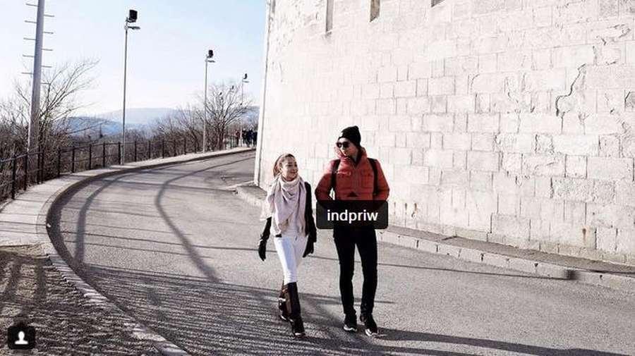 Liburan Mewah Nikita Willy dan Kekasih, Evelyn Pulang ke Jepang