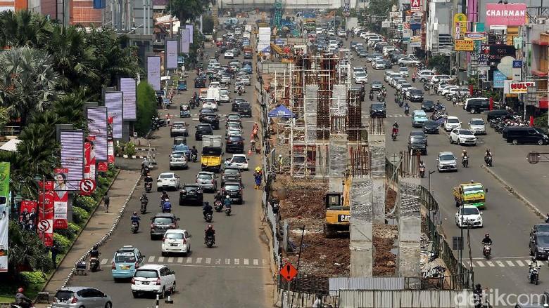 Proyek LRT Kelapa Gading Terus Digenjot