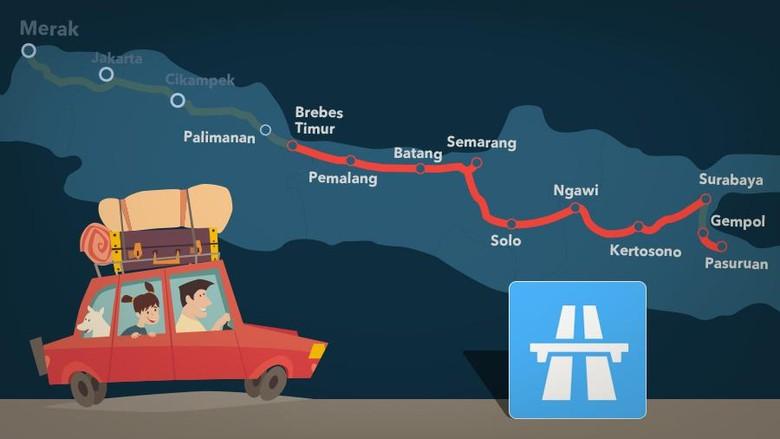 Mudik Jakarta-Surabaya Lewat Tol, Berapa Biayanya?