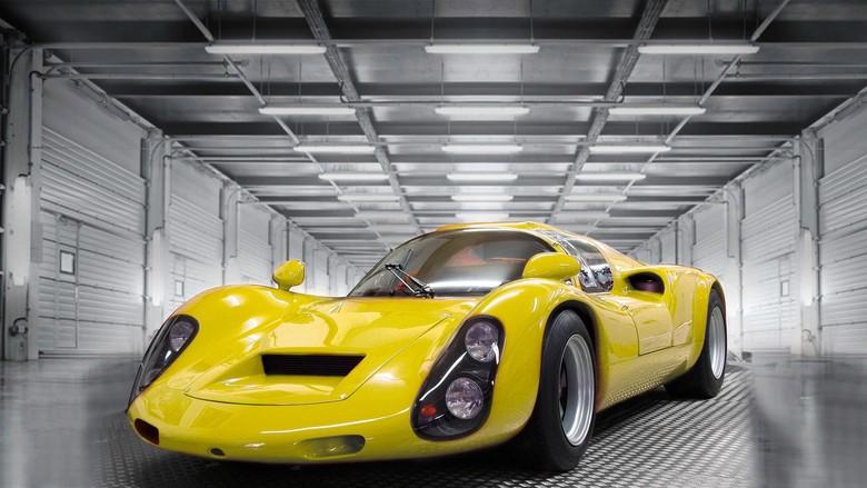 Modif Replika Porsche Klasik dengan Tenaga Listrik