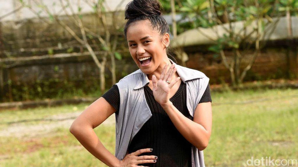 Lia Waode Tak Cari Tenar, Justru Stres karena Video Pocong
