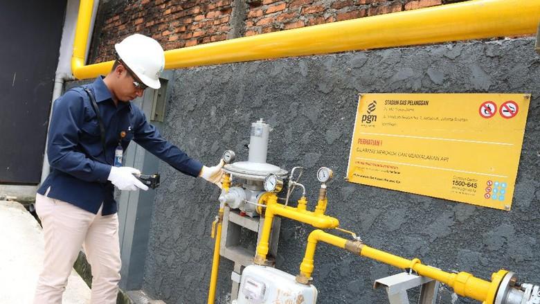 Ada Perbaikan Kilang Arun, Pasokan Gas PGN di Sumut Tersendat