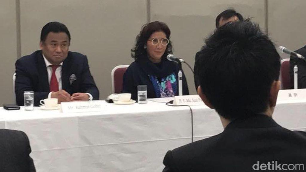 Susi Minta Maaf Pada Konglomerat Jepang