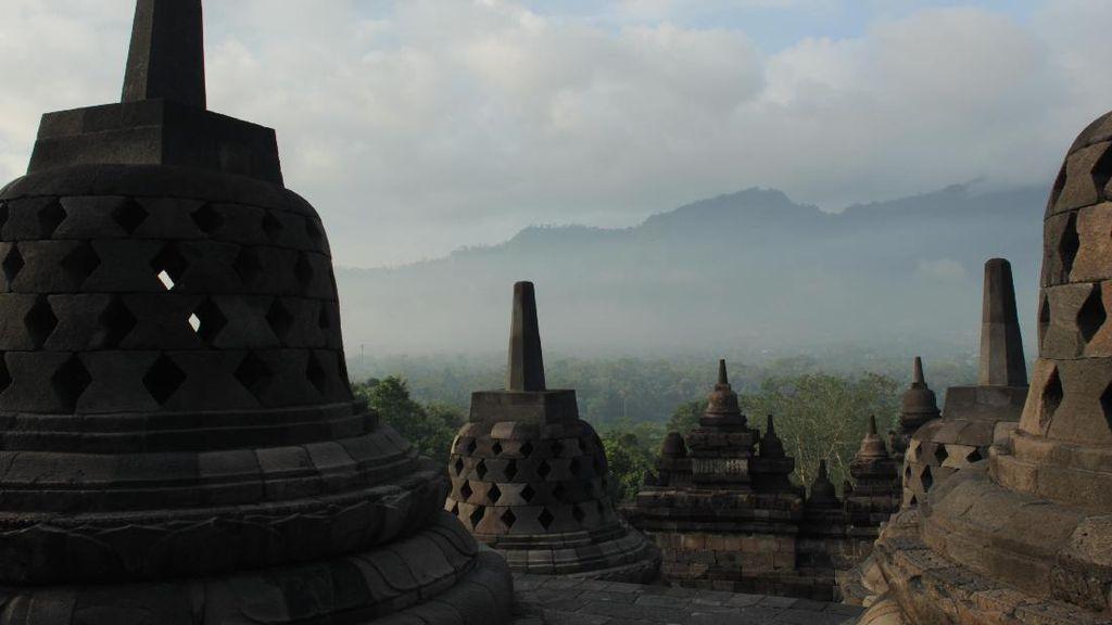Candi Borobudur Ditutup untuk Wisatawan Perorangan Jumat Nanti