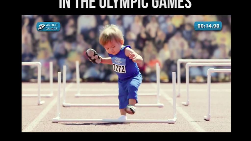 Begini Jadinya Jika Bayi-bayi Lucu Berlaga di Olimpiade