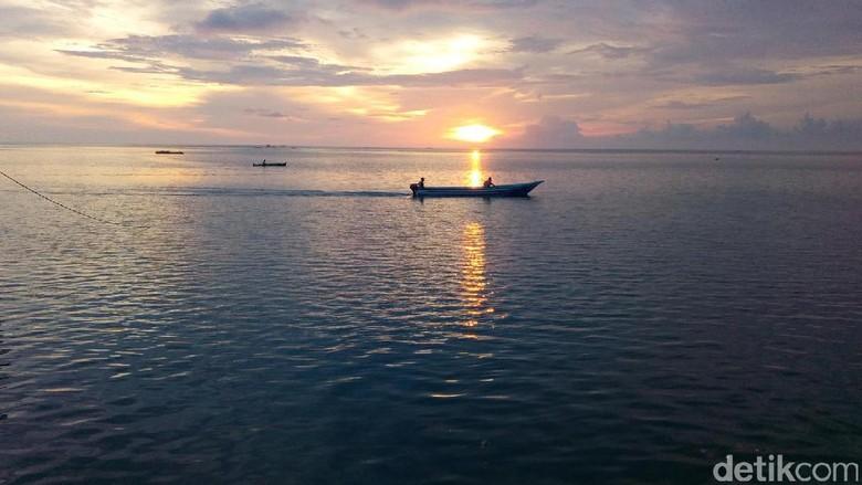Foto: Sunset di Wakatobi (Mukhlis Dinillah/detikTravel)