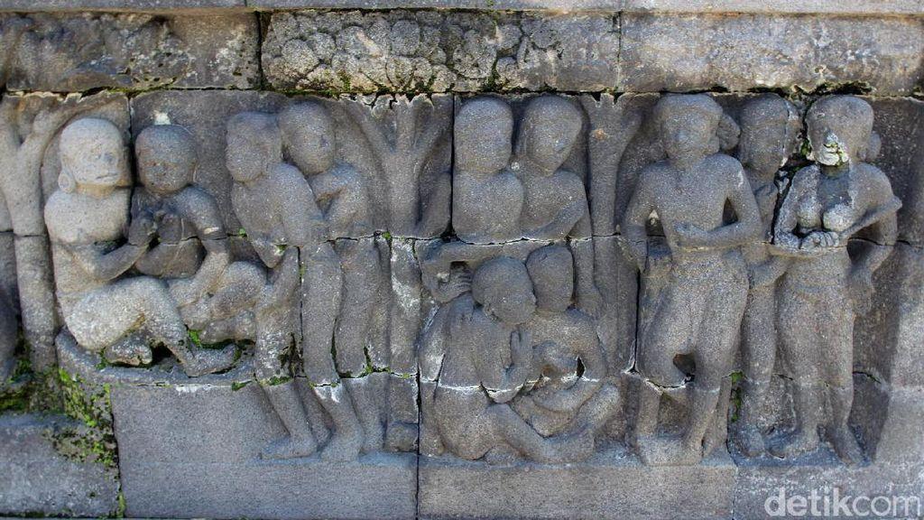 Sudah Tahu? Ada Relief yang Bercerita Tentang Nafsu di Borobudur