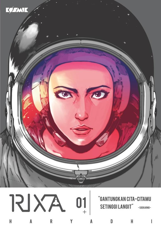 Komik RIXA Angkat Kisah Perempuan Astronot Asal Indonesia