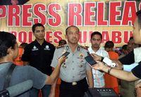 Polres Sukabumi Gagalkan Penyelundupan Puluhan Ribu Bayi Lobster