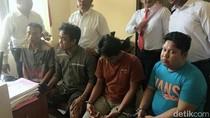 Polisi Gelar Rekonstruksi Pembobol ATM asal Lampung