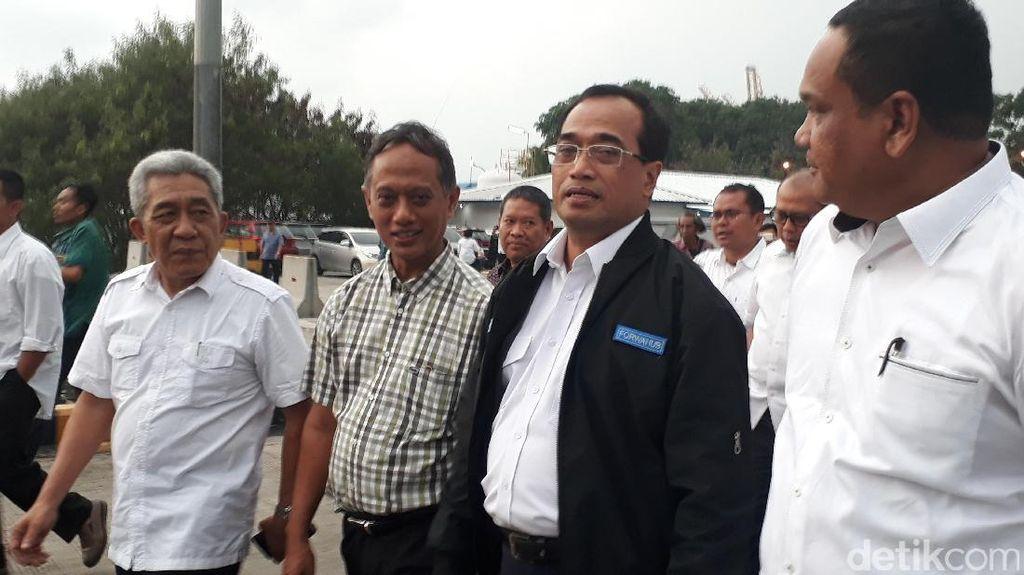 Libur Pilkada, Menhub Tinjau Kapal Roro di Pelabuhan Tanjung Priok