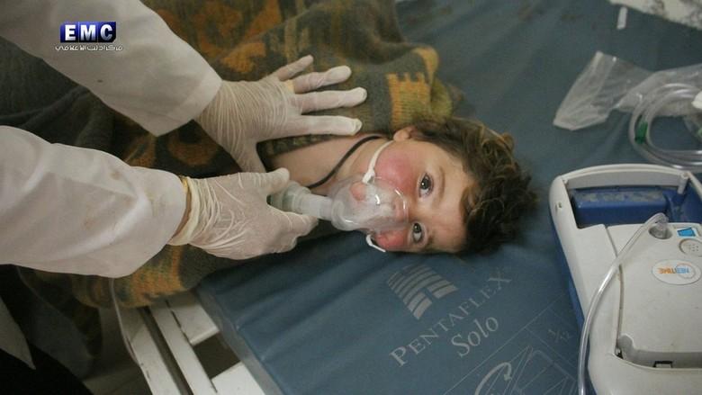 OPCW: Tak Terbantahkan, Serangan di Suriah Gunakan Gas Sarin
