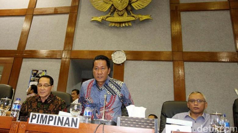 Baleg DPR Bahas Revisi UU MD3 dengan Pemerintah