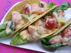 Resep Seafood: Prawn Cocktail Tacos